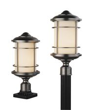 Murray Feiss OL2207 Lighthouse 1 Light Outdoor Post Lamp